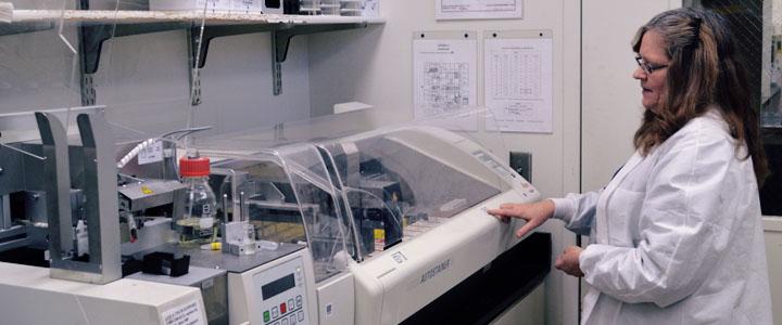 histology lab